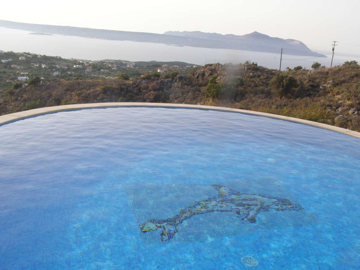 Villa Clair for rent in Drapanos Apokoronas